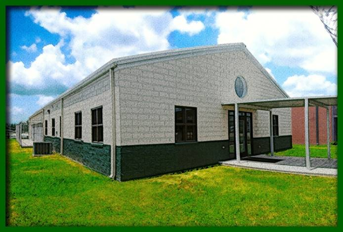 Church of pets. The main shelter was built on the site of a former prison chapel. (Credit: Dixon Correctional Institute)